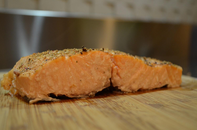 Como evitar a gororoba branca do salmão