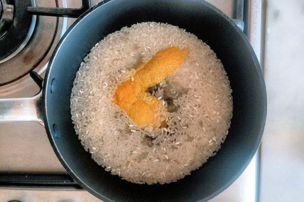 Pre-cozinhe o arroz