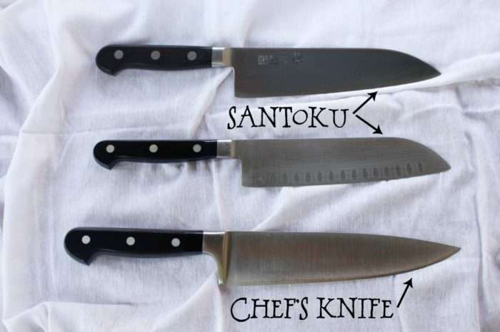 santoku vs faca do chef