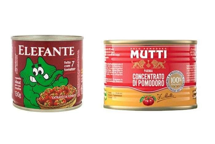 extrato de tomate em lata