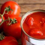 tomate em lata
