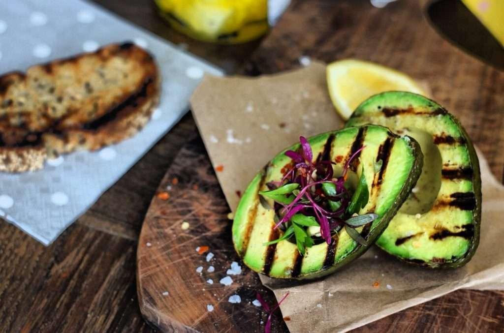 Abacate grelhado