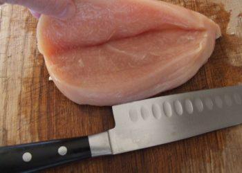 Corte borboleta peito de frango