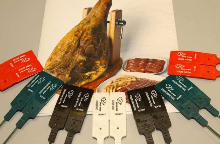 Etiquetas de jamon iberico