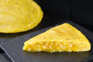 Tortilla espanhola de batatas