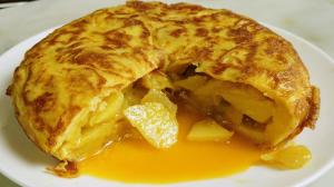 tortilha de batata espanhola