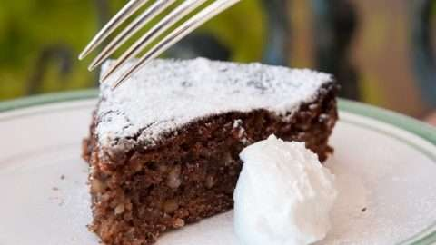 torta caprese bolo de chocolate com amêndoa
