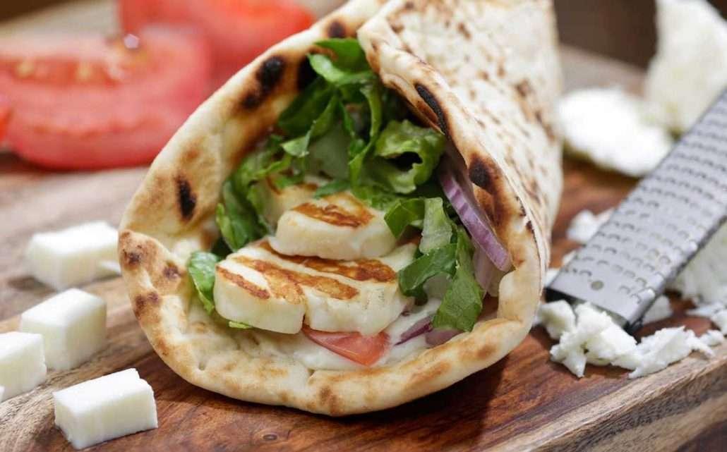Halloumi-Sandwich