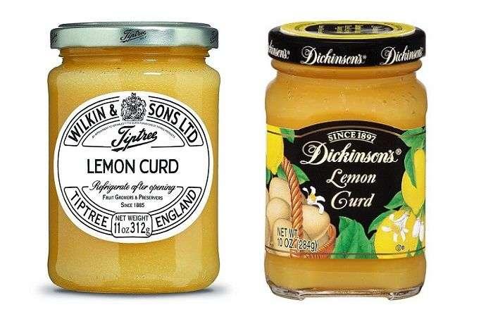 lemon curd marcas