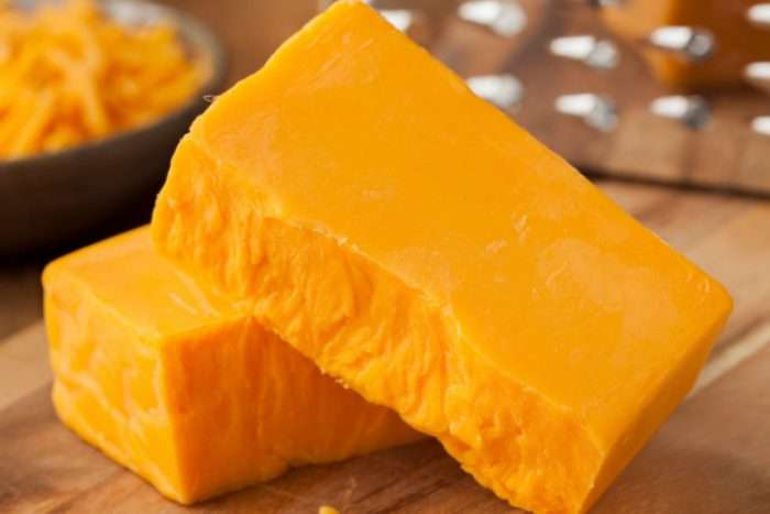 cheddar laranja