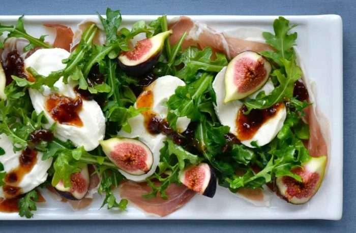 salada figo prosciutto burrata