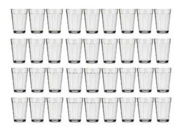 Um copo americano tem 190ml