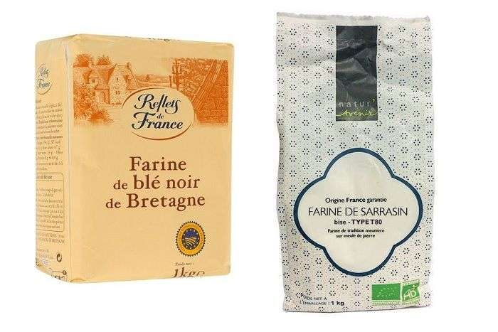 Farinhas de trigo sarraceno