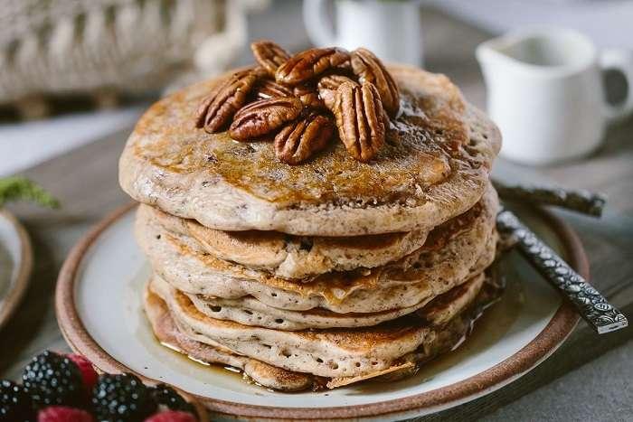 Pancakes ou Panquecas americanas de trigo sarraceno