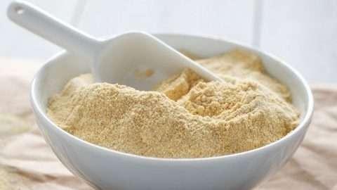 farinha de grão-de-bico