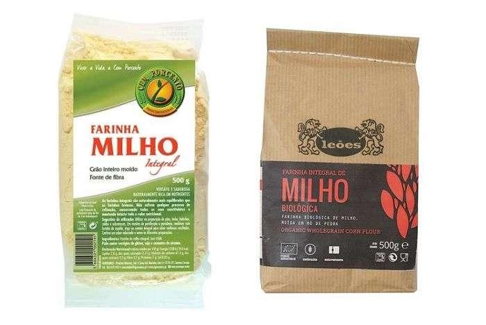 Farinha de milho integral