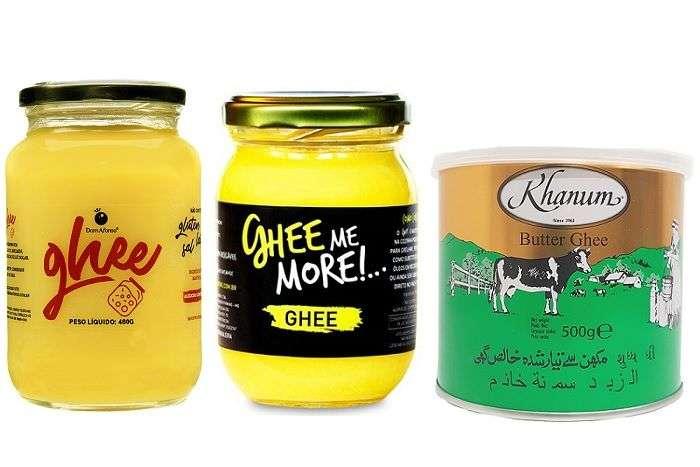 Manteiga clarificada Ghee