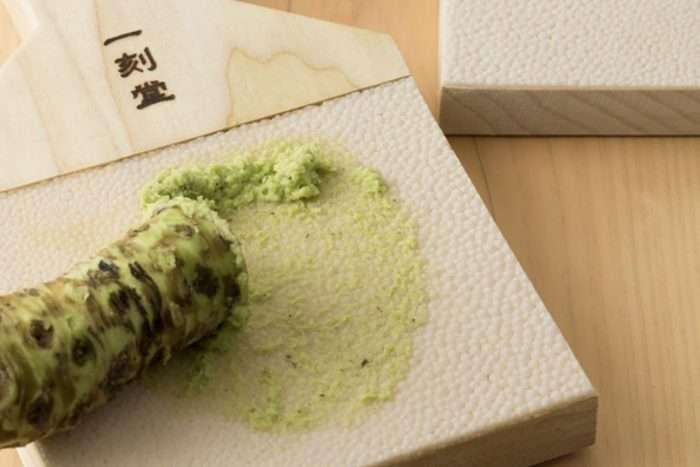 ralador de pele de tubarão para wasabi