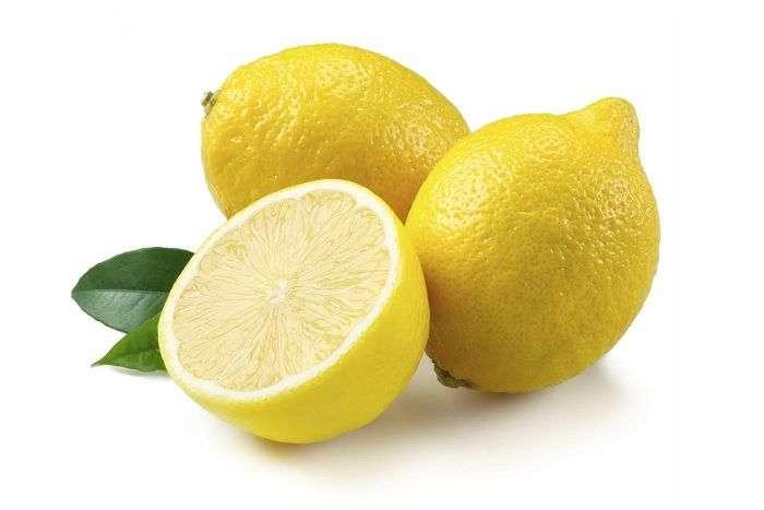 tipo de limão: Limão-siciliano ou limão amarelo