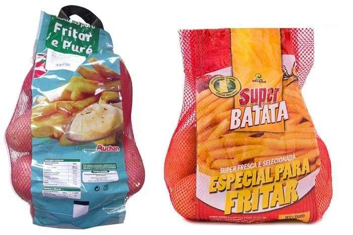 Batatas para fritar