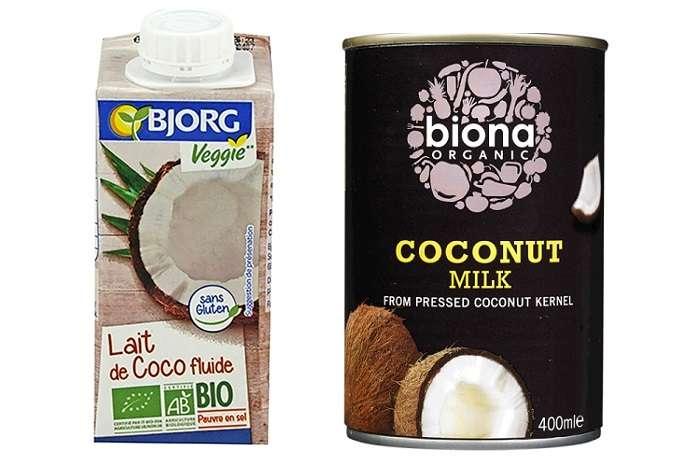 leite de coco bio orgânico