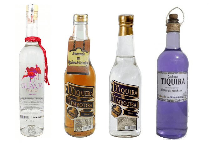 Tiquira é uma bebida alcoólica produzida com mandioca