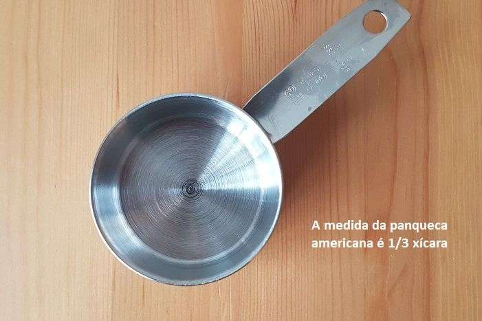 medidor panqueca americana