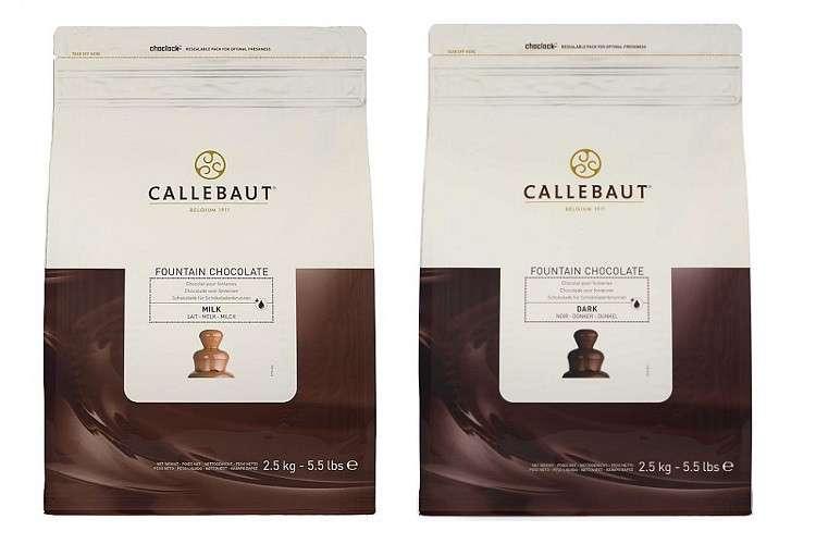 chocolate fountain callebaut