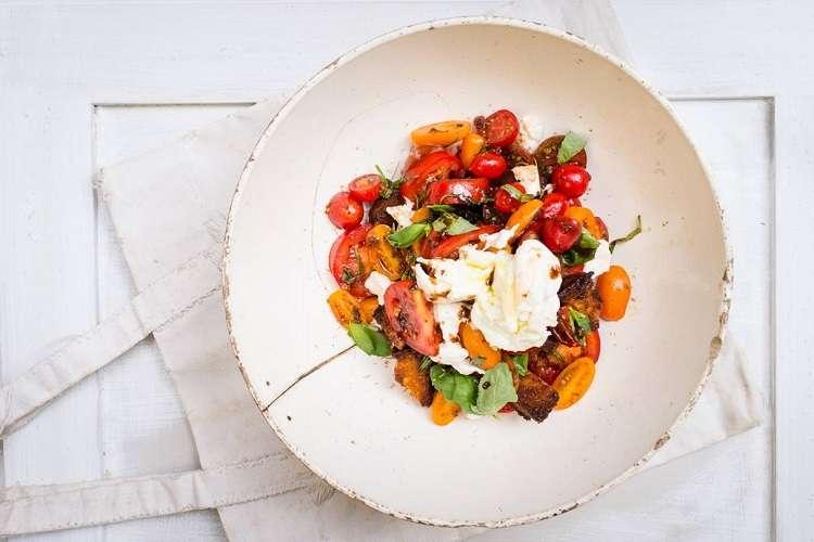 Nina Parker Caprese salad