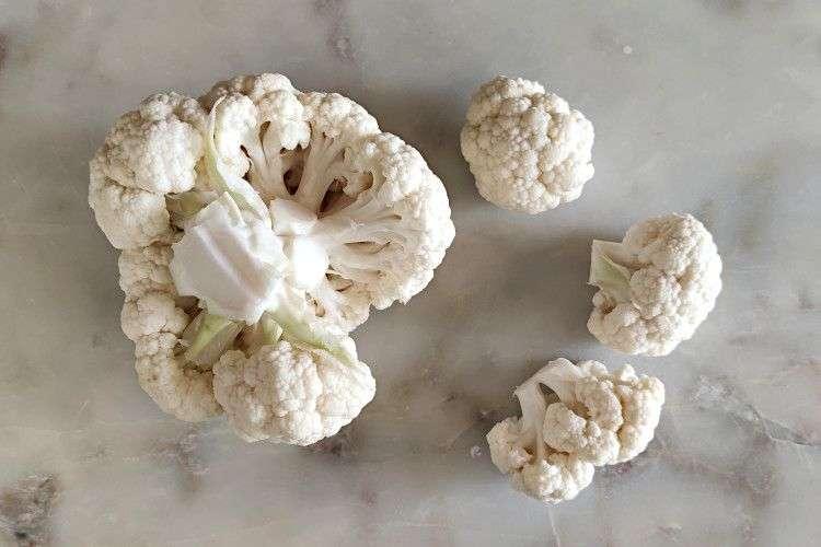 couve-flor gratinada