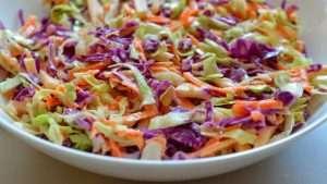 receita de coleslaw - salada de repolho
