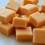 receita de fudge de caramelo e baunilha