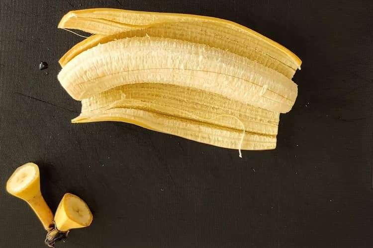 preparo da banana