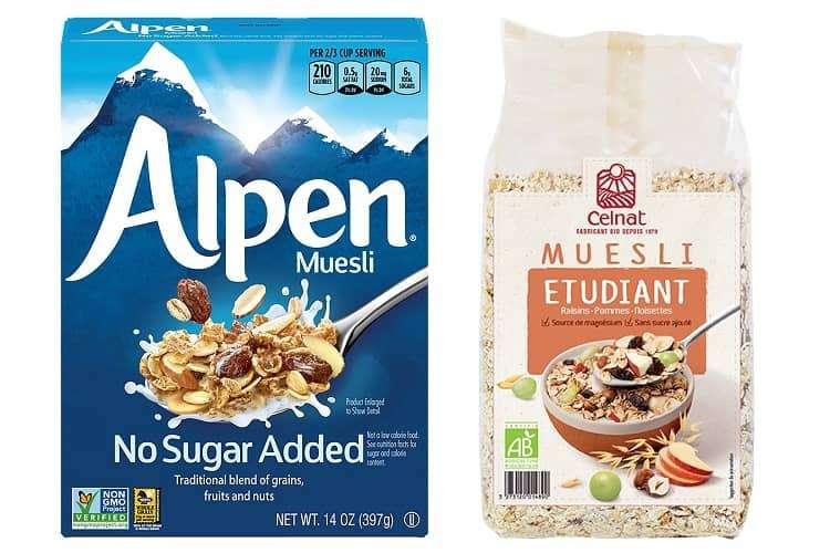 Cereal para muesli