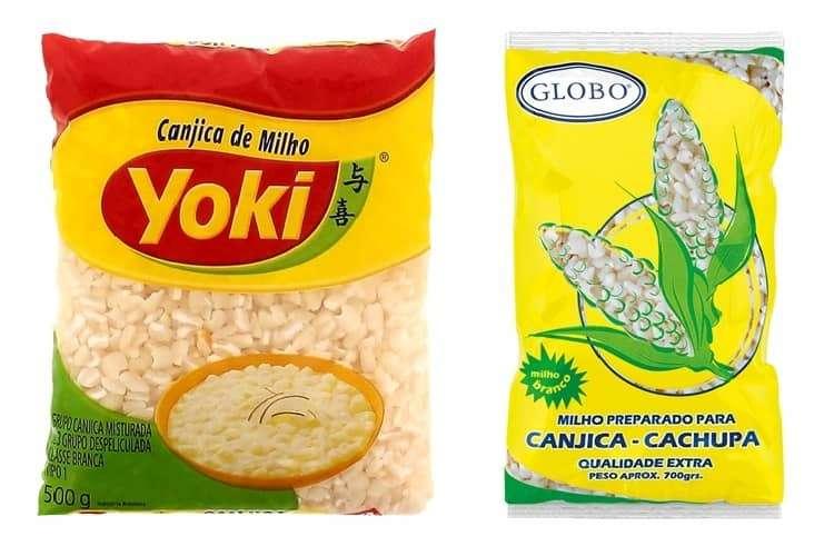 milho para canjica