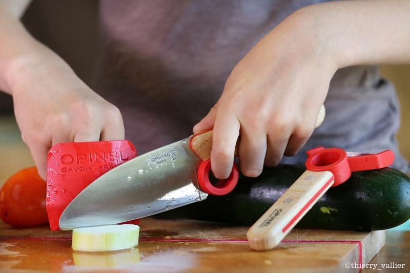 Faca para crianças Le Petit Chef da Opinel