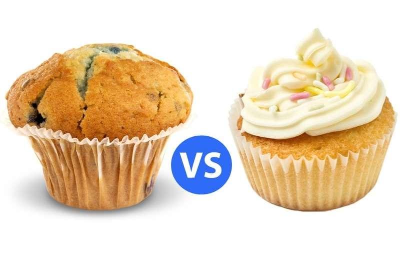 Muffin x Cupcake: qual a diferença?